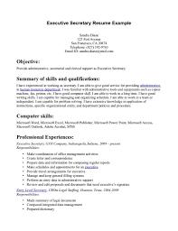 ... legal secretary resume sample ...