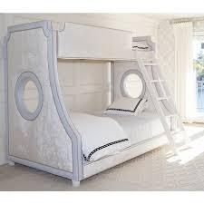 elegant baby furniture. Gramercybunkbed-hopsackblueandopulencecreme-polishnickel-1280.jpg Elegant Baby Furniture