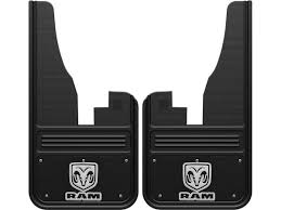black dodge ram logo. picture of 20092018 ram vertical logo black wrap front mud flaps dodge ram