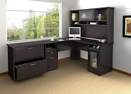 office table with storage. modular desks home office furniture of black l shaped desk designed with table storage