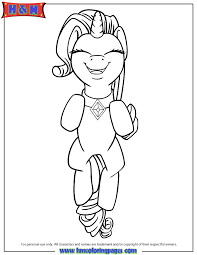 Small Picture My Little Pony Blank Coloring Pages Coloring Pages