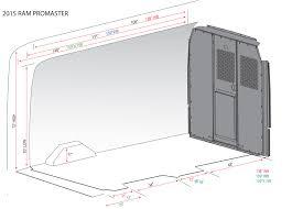 promaster cargo area dimensions ram promaster
