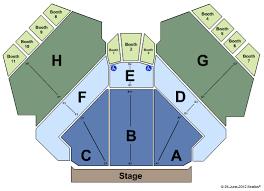 Harrahs South Shore Showroom Seating Chart Seating Charts