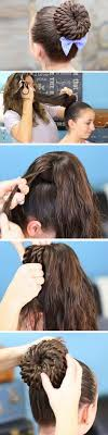 Easy Long Hairstyles 49 Amazing Updos For Girls With Long Hair Easy Hairstyle Tutorials For Prom