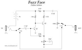 dallas arbiter fuzz face schematic design