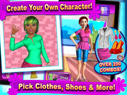 sunnyville salon game play free hair nail make up games screenshot 5
