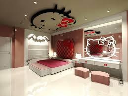 Bedroom: Hello Kitty Bedroom Luxury Dreamful Hello Kitty Room Designs For  Girls Amazing - Hello