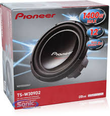 pioneer ts w309d2 tsw309d2 12 dual 2 ohm champion subwoofer product pioneer ts w309d2