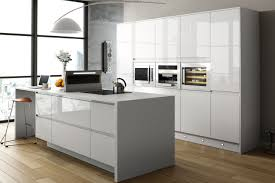 Pleasant White Gloss Kitchen Top Kitchen Remodeling Ideas with