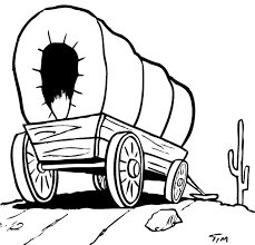 black and white covered wagon. western wagon cliparts #2424131 black and white covered t