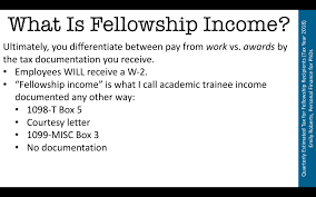 How Much Tax Will I Owe On My Fellowship Stipend Or Salary