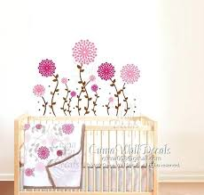 jj nursery flower wall decals sweet primrose bedding wall sticker nursery wall mural children girl