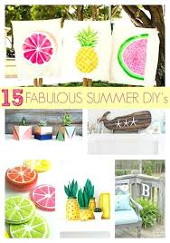 what are some easy diy ideas to decorate your home fabulous summer projects easy diy ideas