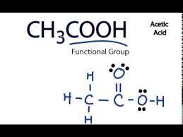 Ch3cooh Lewis Structure Acetic Acid Youtube