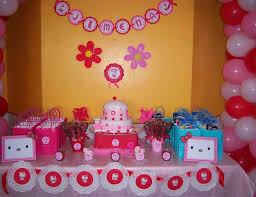 Pink And Red Hello Kitty Birthday Jimenas 7th Birthday Catch
