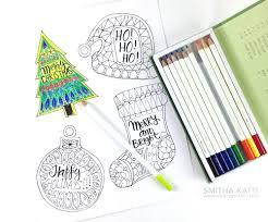 Printable christmas hang tags print 4 to 16 on a page. Free Coloring Holiday Gift Tags Smitha Katti