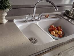 Corian Kitchen Countertop With Integrated Sink Kitchen Amazing