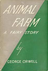 animal farm   wikipediaanimal farm   st edition jpg  first edition cover  author  george orwell