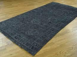 black runner rug rugs for hallway kitchen grey