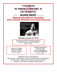 Christ Of Light Church Cherry Hill Nj Mlk Date Of Service Blood Drive Diocese Of Camden