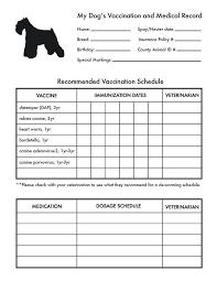 Printable Immunization Record Chart Printable Dog Vaccine Chart Www Bedowntowndaytona Com