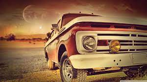 Vintage Car Front Ultra HD Desktop ...