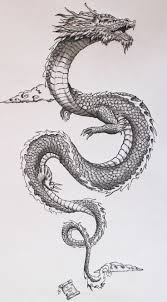 Dragon tattoo oriental