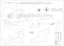 full scale plans fender telecaster deluxe electric guitar 72 telecaster custom wiring diagram at Fender Telecaster Deluxe Wiring Diagram