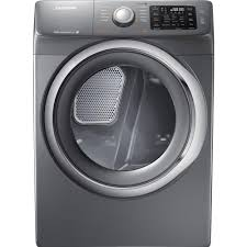 Gas Washers And Dryers Samsung 75 Cu Ft Gas Dryer With Steam In Platinum Dv42h5200gp