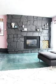 painted rock fireplace photo 2 of 8 fireplace refinishing stone 2 how to update a rock