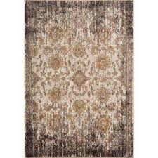 manor ivory taupe 4 ft x 6 ft empire area rug