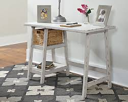 White office table Long Large Mirimyn 42 Desks Ashley Furniture Homestore Desks Ashley Furniture Homestore