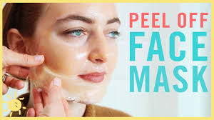 face mask to peel off