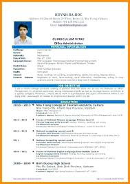 Resume Of Graduate Student. Career Services Sample Resumes For ...