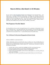 Example Of Personal Essays Example Of Someones Good Biography Brilliant Ideas Personal