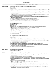Resume Sample For Accounting Jobs Finance Accounting Resume Samples Velvet Jobs