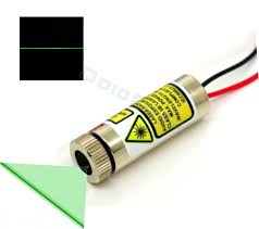 10mw green 520nm adjule focus direct diode line laser module 5v 12mm