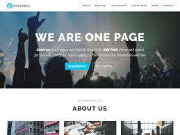 best responsive wordpress themes accesspress themes onepress is a fresh wordpress theme smooth one page parallax design it is completely built on customizer so that you can quickly make changes in