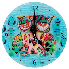 owl collection owl wall clock