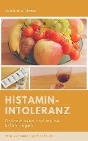 Histaminintoleranz gewichtszunahme