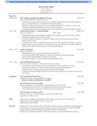 Resume Examples For Massage Therapist Massage Therapist Resumes