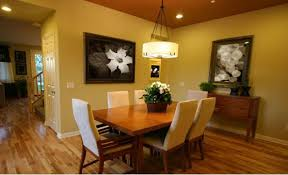 dining room colors brown. Bright Orange And Gold Dining Room Colors Brown 2