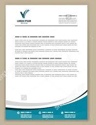 Letterhead Templates Design Corporate Letterhead Template Letterhead Template Design Vector Free