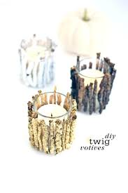 candles beach candle holders fall to holiday woodsy votive decoration ideas candles diy