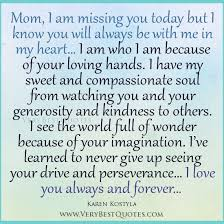 Losing A Parent Quotes Cool Quotes On Losing Your Mother Quotes For Mom I Am Missing You Mom
