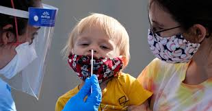 It S Not Easy To Get A Coronavirus Test For A Child The New York Times