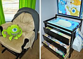 decoration monster crib bedding set monsters inc baby room 4 piece by kidsline
