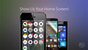 Show Us Your Phone s Home Screen Setup