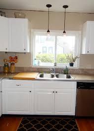 Beauteous Straight Shape Modular Kitchen Features White Brown Modular Kitchen Sink