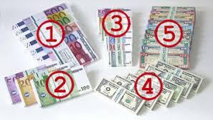 Geldscheine zum ausdrucken kostenlos spielgeld : Euroscheine Geldscheine Dollarscheine Buntebank Spielgeld Kaufen